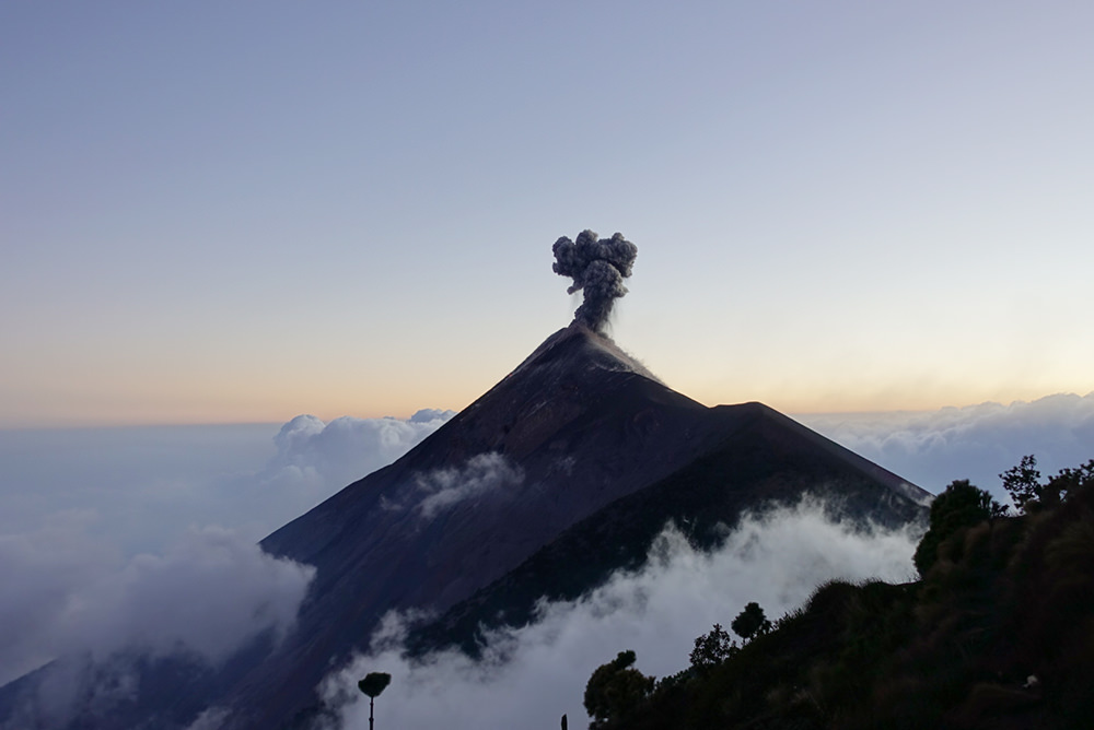 Guatemala Active Volcano - Learn Spanish