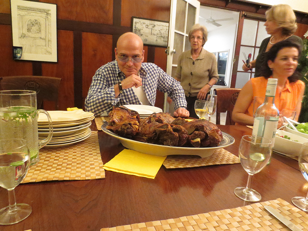Christmas dinner in Australia - learn English