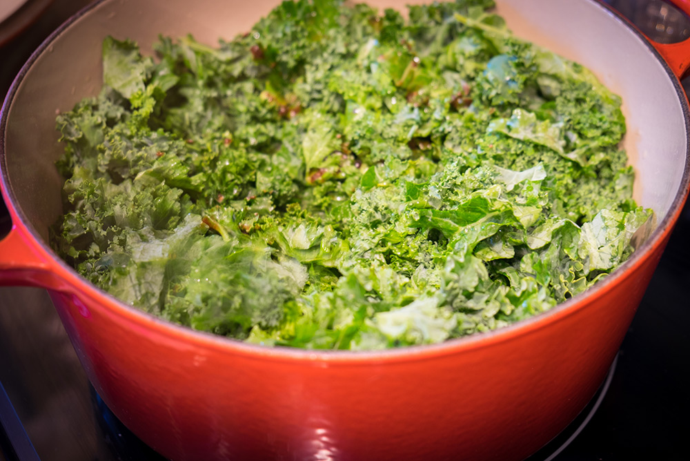 Traditional Table - kale