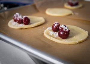 How to prep cherry pies