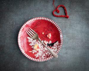 Cherry pie dish