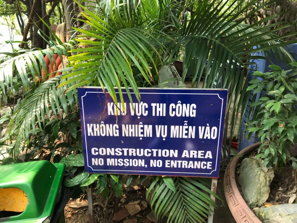 Vietnamese translation in Vietnam