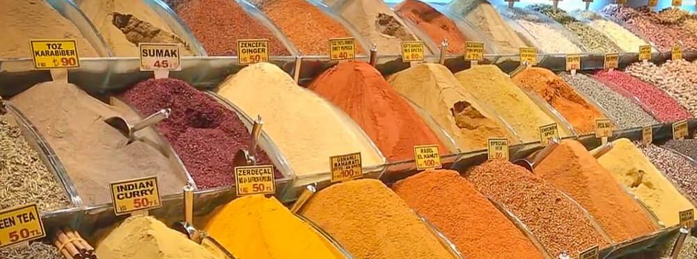 Turkish Spice Market Istanbul