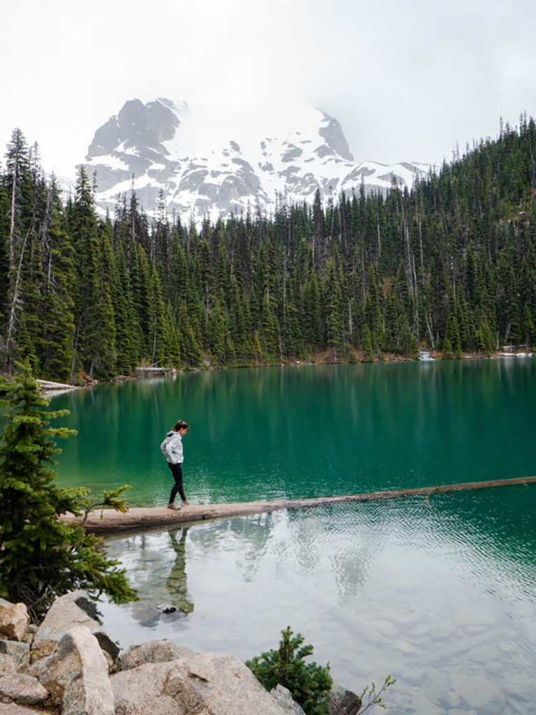 Solo Travel Joffre Lakes Provincial Park British Columbia Brooke Siem Chef