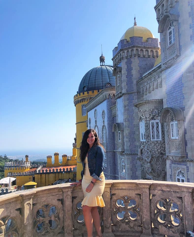 Olivarez explores Sintra, Portugal