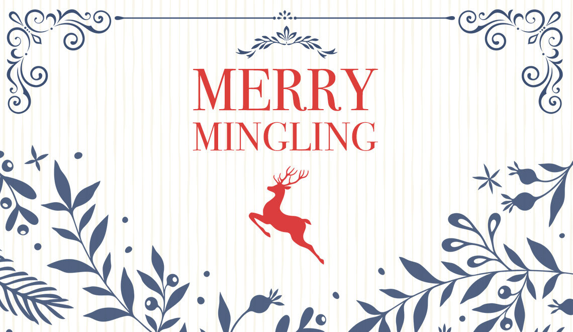 Merry Mingling Holiday Cards