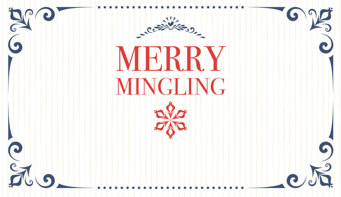 Merry Mingling Title Card