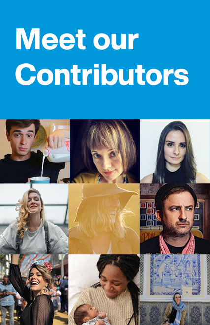 Come meet our contributors