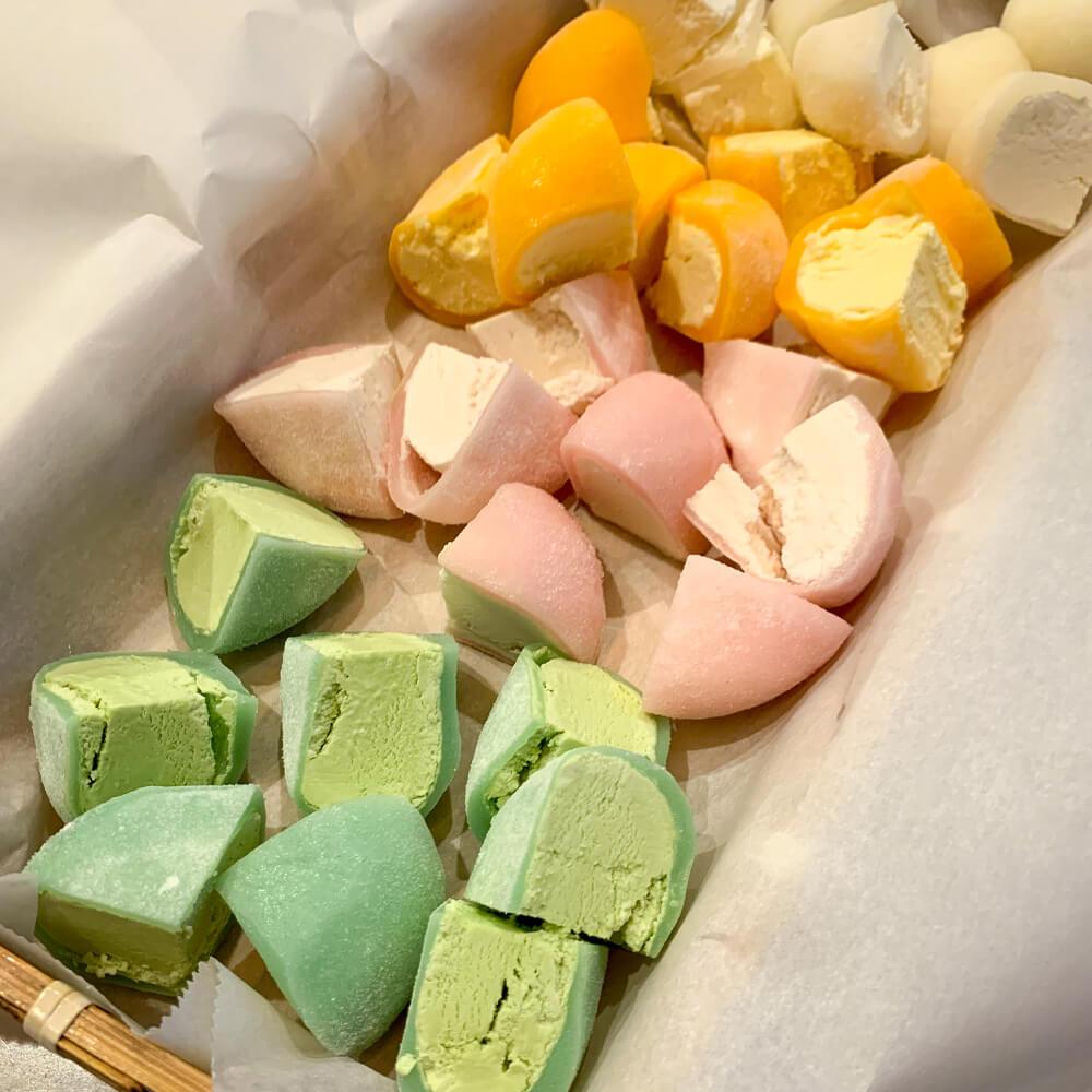 Mochi - a Japanese treat
