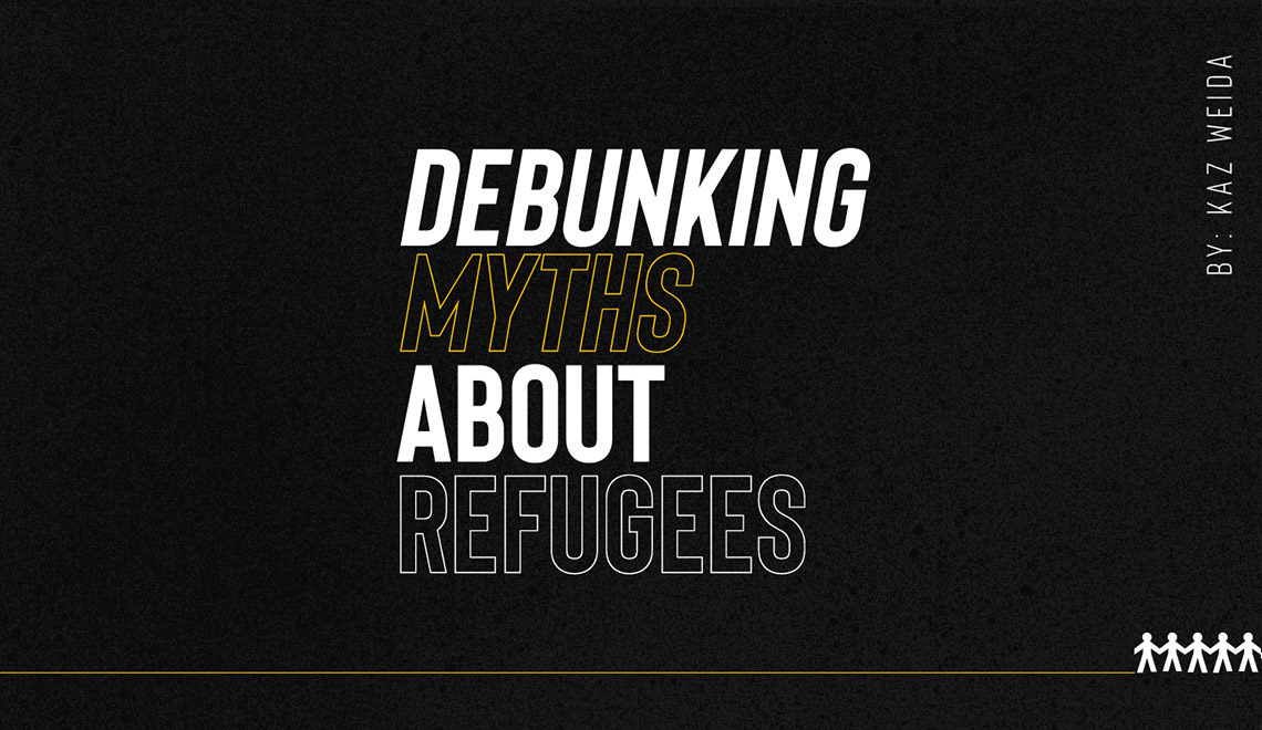 Debunking myths about refugees