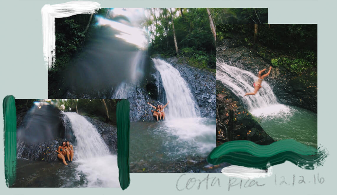 Practicing Spanish on a hunt for waterfalls in Costa Rica