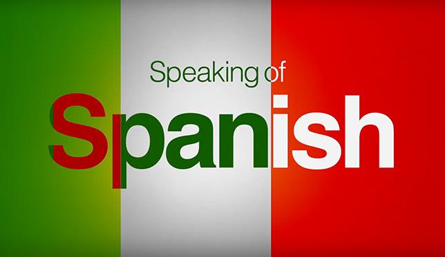 speaking of spanish series