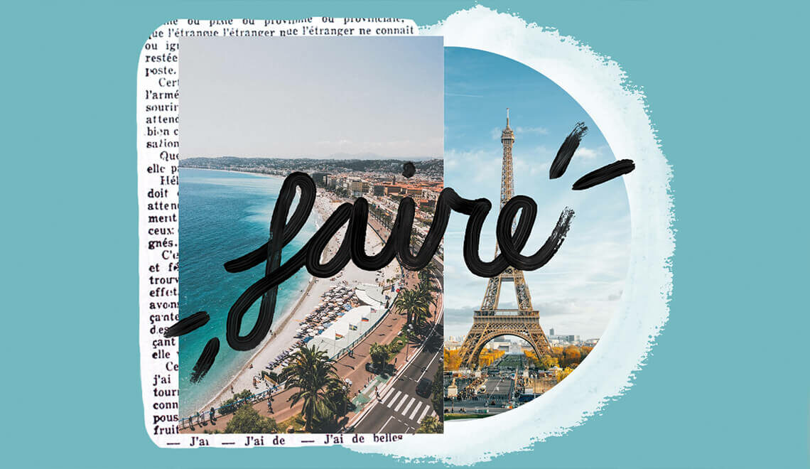 Faire - a versatile French word