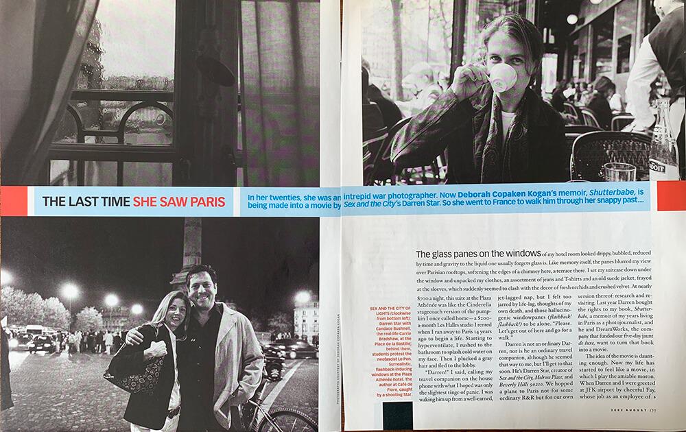 Author Deborah featured in O, The Opera Magazine